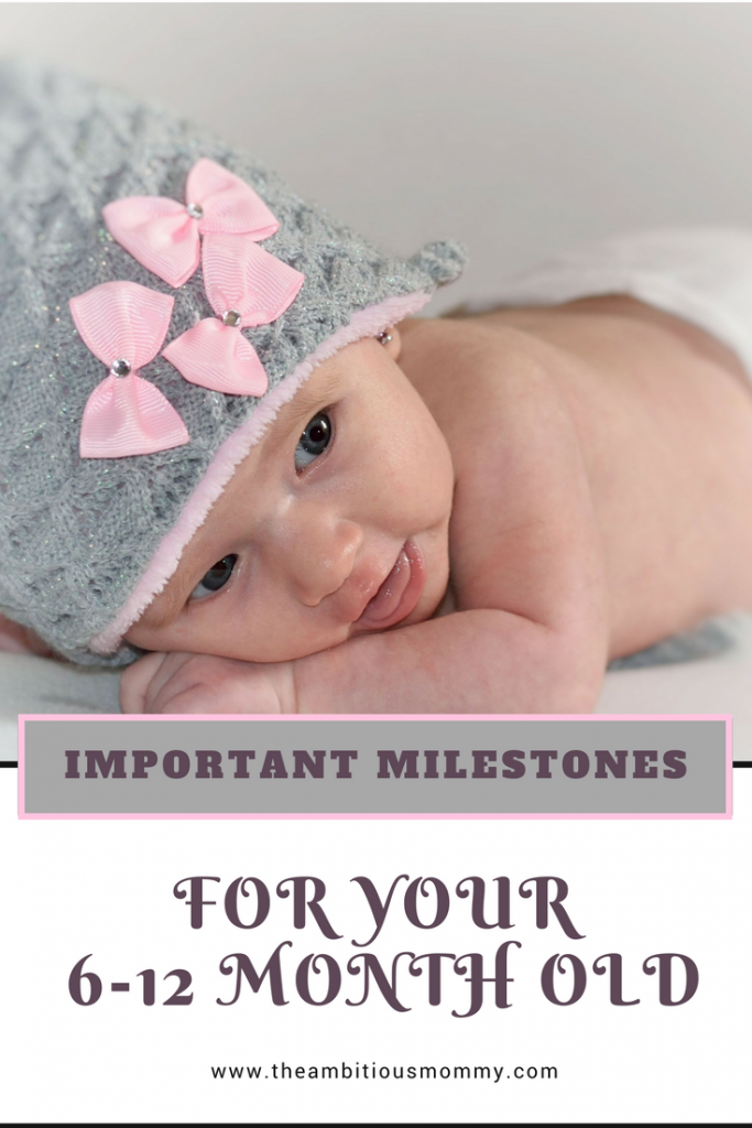 Milestones for 0-6 Month Old