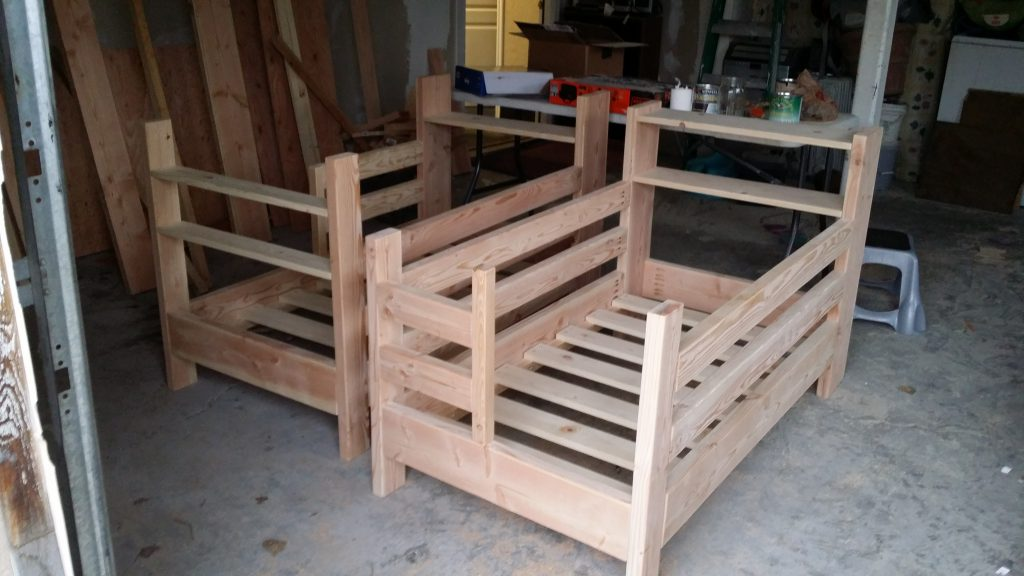 Beautiful Diy Toddler Bunk Beds With Headboard Shelves Storage Space
