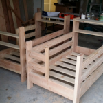 Beautiful DIY Toddler Bunk Beds with Headboard Shelves & Storage Space