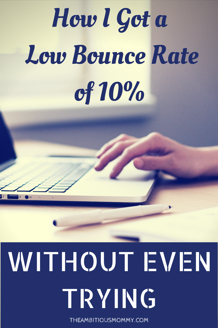 how to get a low bounce rate