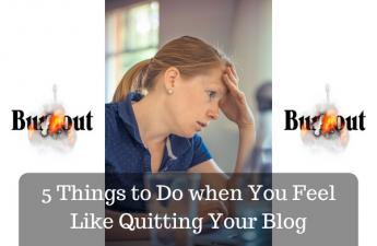 ready to quit blogging