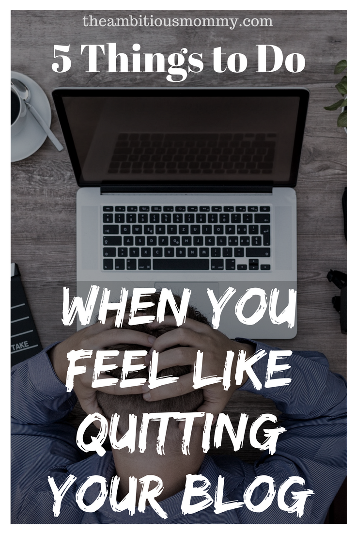 quit your blog