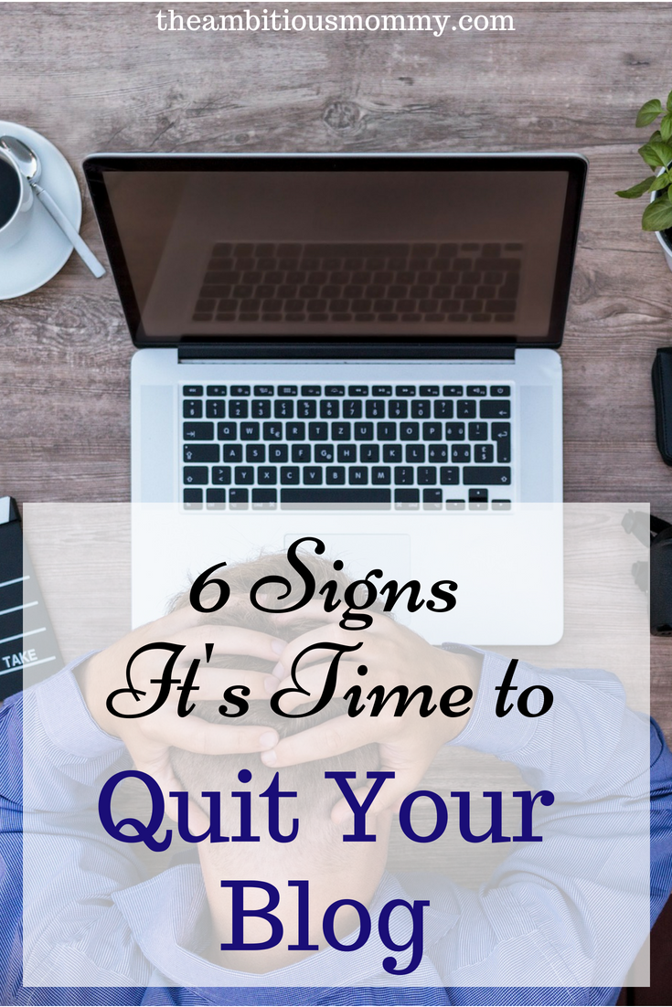 quitting your blog